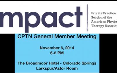 CPTN General Member Meeting – November 6, 2014