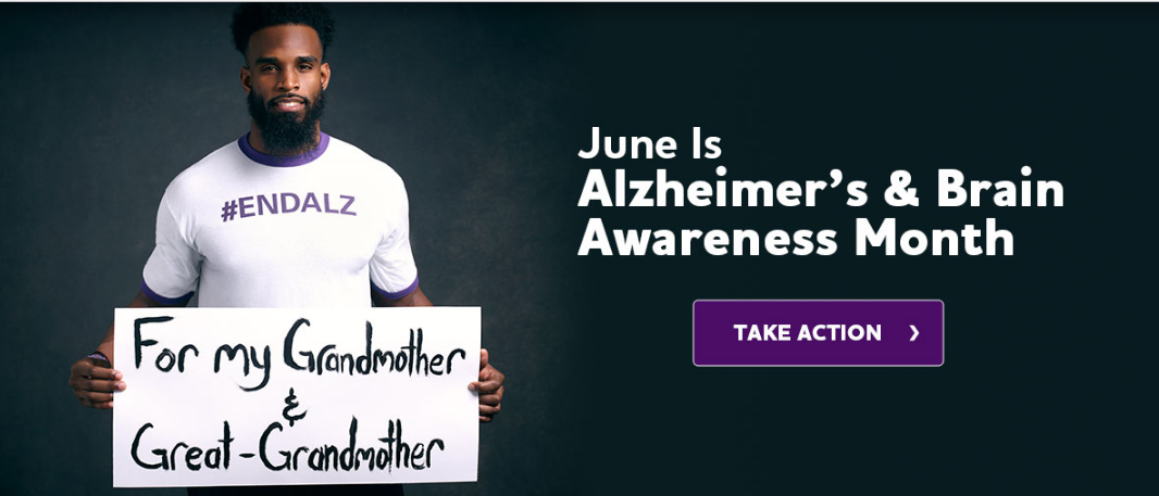 alzheimer's and brain awareness month. take action from alz.org